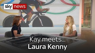 Kay Meets Laura Kenny - SKYNEWS
