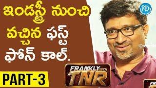 #Sammohanam Director Mohan Krishna Indraganti Part#3 || Frankly With TNR#116 | Talking Movies - IDREAMMOVIES