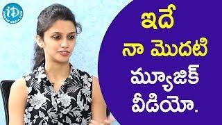 ఇదే నా మొదటి మ్యూజిక్ వీడియో. - Shreya Deshpande || Talking Movies With iDream - IDREAMMOVIES