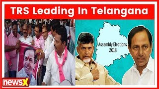 Telangana elections results 2018: Leads TRS 93, Congress+ 17, BJP 2, Others 6 - NEWSXLIVE