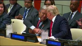 Trump, Guterres Agree Bureaucracy Makes UN Less Effective - VOAVIDEO