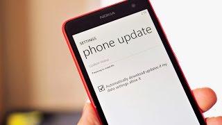 Обновление прошивки на Nokia Lumia 625 до Windows Phone 8.1 (Cyan)