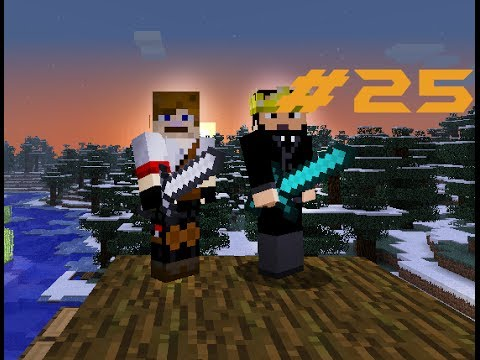 Matty and Brad Play Minecraft EP : 25 In the desert...