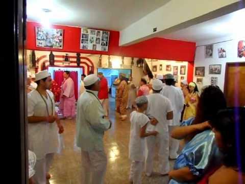 Aniversario de Xango, Baba Marcos * Alagbe Hernan de Oxala - Bara 2