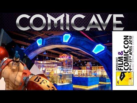 تغطية كهف الكوميك متجر الإبداع MEFCC 2015 Comicave