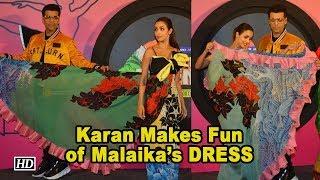 Karan Makes Fun of Malaika's DRESS | India's Got Talent 8 - IANSINDIA