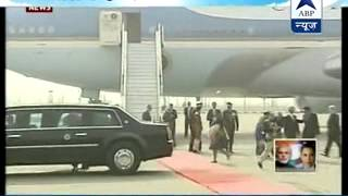 Obama leaves India l Heads to Riyadh to pay respects to deceased Saudi king - ABPNEWSTV