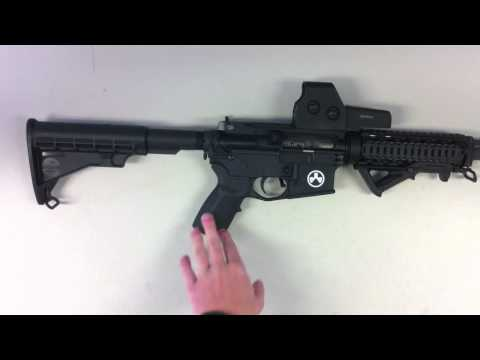 Bushmaster AR-15 M4 with accesories