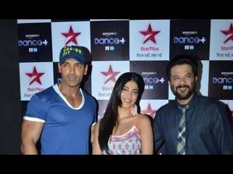 John, Anil & Shruti Promoting 'Welcome Back'