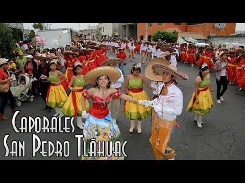 Carnavales - Carnaval Tláhuac 2014 Caporales San Pedro Tláhuac