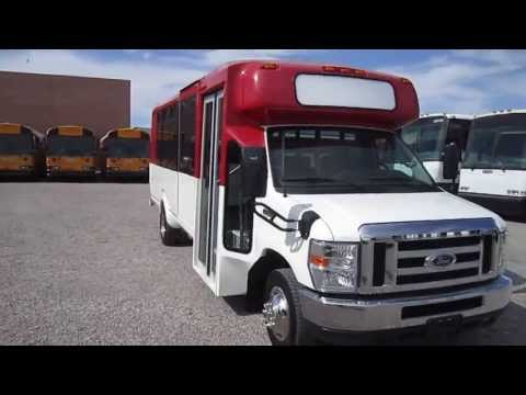 2010 Used Shuttle Bus - Ford Eldorado Aerotech With Wheel Chair Lift And Rear Compartment S34844