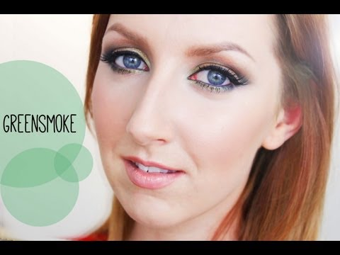 GreenSmoke - How to Rock a Sexy Green Smokey Eye!