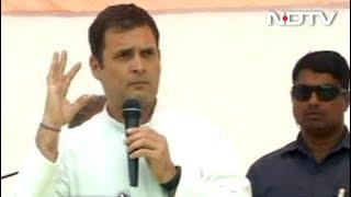 राहुल गांधी ने अपने बयान पर खेद जताया - NDTVINDIA