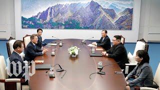 The historic Koreas summit, in three minutes - WASHINGTONPOST