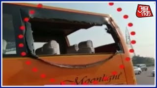 Delhi से Agra जा रही Bus में ड्राइवर की लगी नींद, हुआ बड़ा हादसा ! - AAJTAKTV