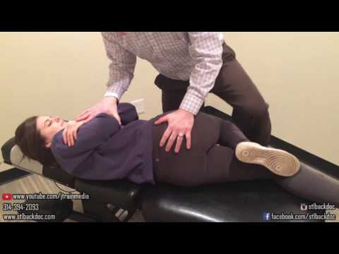 JUST ADJUSTMENTS - Chiropractic Adjustment on a Student with Low Back Pain