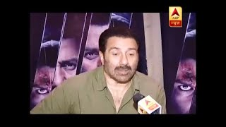 Sunny Deol, Karan Kapadia exclusive on ABP News - ABPNEWSTV