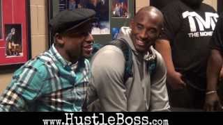 Kobe's Uncensored Cursing With Floyd Mayweather, Says