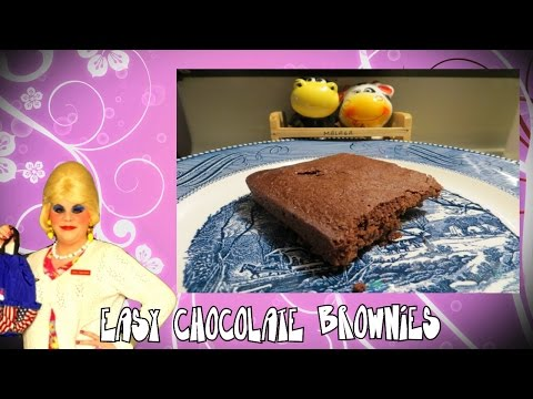 Easy Chocolate Brownies Trailer Park Style