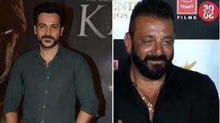 Emraan Attends 'Karta Tu Dharta Tu' Premiere | Sanjay Invites Salman For 'Bhoomi's Screening