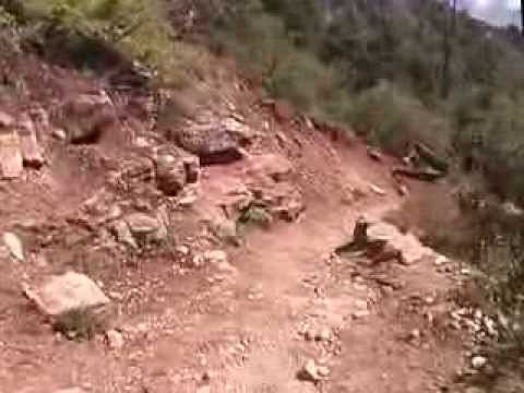 1 Grand Canyon North Kaibab Trail down Part 1 of 6 Mile 0 to 2.0 NK1