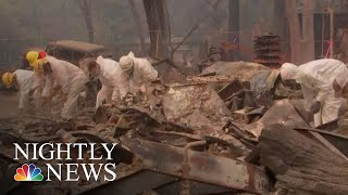 Death Toll Continues To Rise, Nearly 300 Missing In Northern California Camp Fire | NBC Nightly News - NBCNEWS