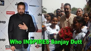 Who INSPIRES Sanjay Dutt, Find Out - IANSINDIA