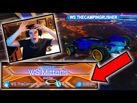 WORLD RECORD FASTEST GOAL IN ROCKET LEAGUE!!