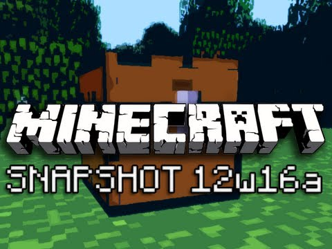 Minecraft: Bonus Chests and Single Player Commands (Intro to Snapshot 12w16a)