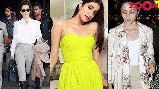 Kangana Ranaut, Janhvi Kapoor & Alia Bhatt's trends for October | Planet Bollywood Special - ZOOMDEKHO