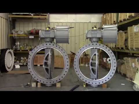 42 Inch Double Offset Butterfly Valves