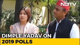Empowerment, Safety: Dimple Yadav's Promise To Women For 2019 Polls - NDTV