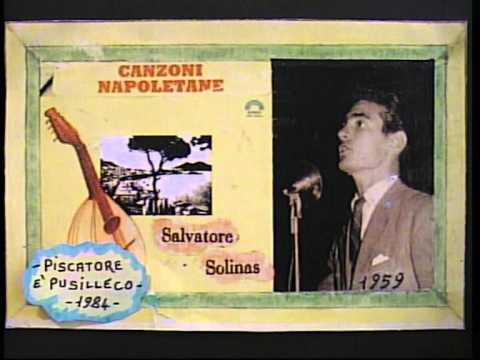 Salvatore Solinas ( PISCATORE E' PUSILLECO ) reg.1984