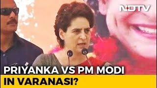 """Priyanka Gandhi From Varanasi? """"50:50 Chances,"""" Say Congress Sources - NDTV"""