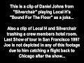 """Silverchair Plays Local H's """"Bound For The Floor"""" As A Joke"""