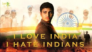 Independence Day Special Telugu Short Film - I Love India I Hate Indians | Lemon Soda - YOUTUBE