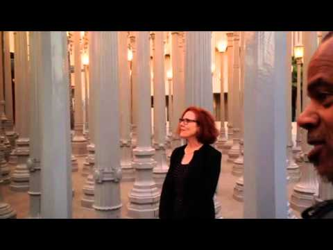 Outside LACMA: Skip Snow's Intervention/Exchange V with Todd Gray and Frau Kolb