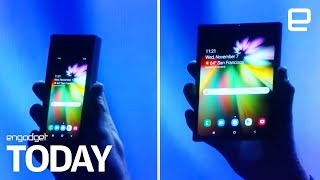 Samsung's foldable phone could cost $1700 | Engadget Today - ENGADGET