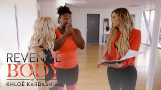 Khloé Kardashian Surprises Shayla With Her DNA Results | Revenge Body with Khloé Kardashian | E! - EENTERTAINMENT