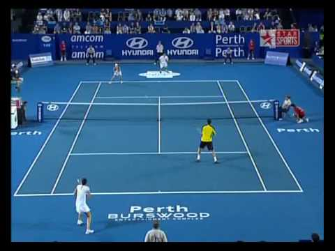Safin/Safina-Simon/Cornet Mixed 09 (Highlights)