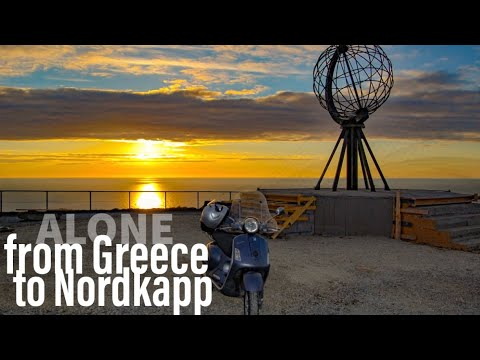 vespa in north cape.wmv