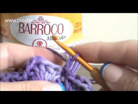 Crochê - Tapete Barroco em Ponto Escama - Parte 01/09