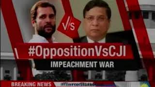 Impeachment war: Congress' 10 point attack; should dissenting judges be heard? - NEWSXLIVE