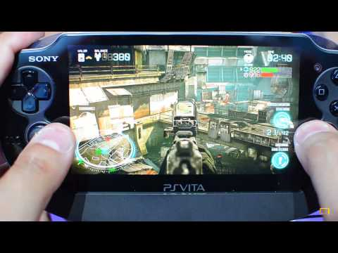 [E3 2013] Killzone Mercenary Gameplay PS Vita