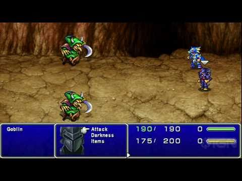 Final Fantasy IV Complete Collection: Kain Gameplay