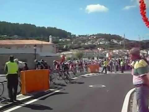Accidente Vuelta Ciclista España 2012