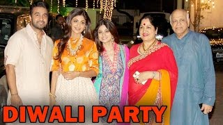 Shilpa Shetty holds a Diwali Party | Bollywood News