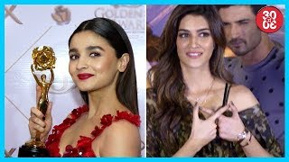 Alia Refusing Multi-Starrer Movies? | Are Sushant-Kriti Avoiding Each Other? - ZOOMDEKHO