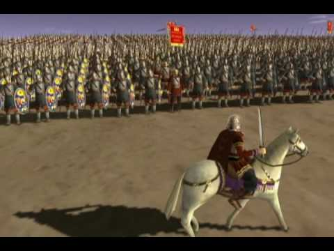 Romans vs Persians Battle