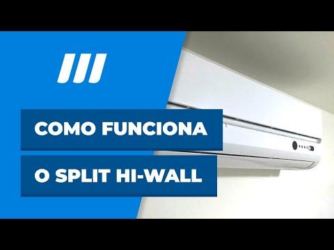 Como funciona o split hi-wall - Web ArCondicionado